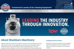 Washburn Machinery website