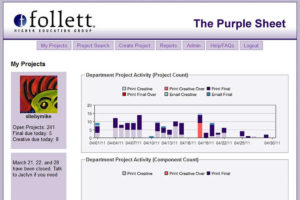 PurpleSheet project tracker