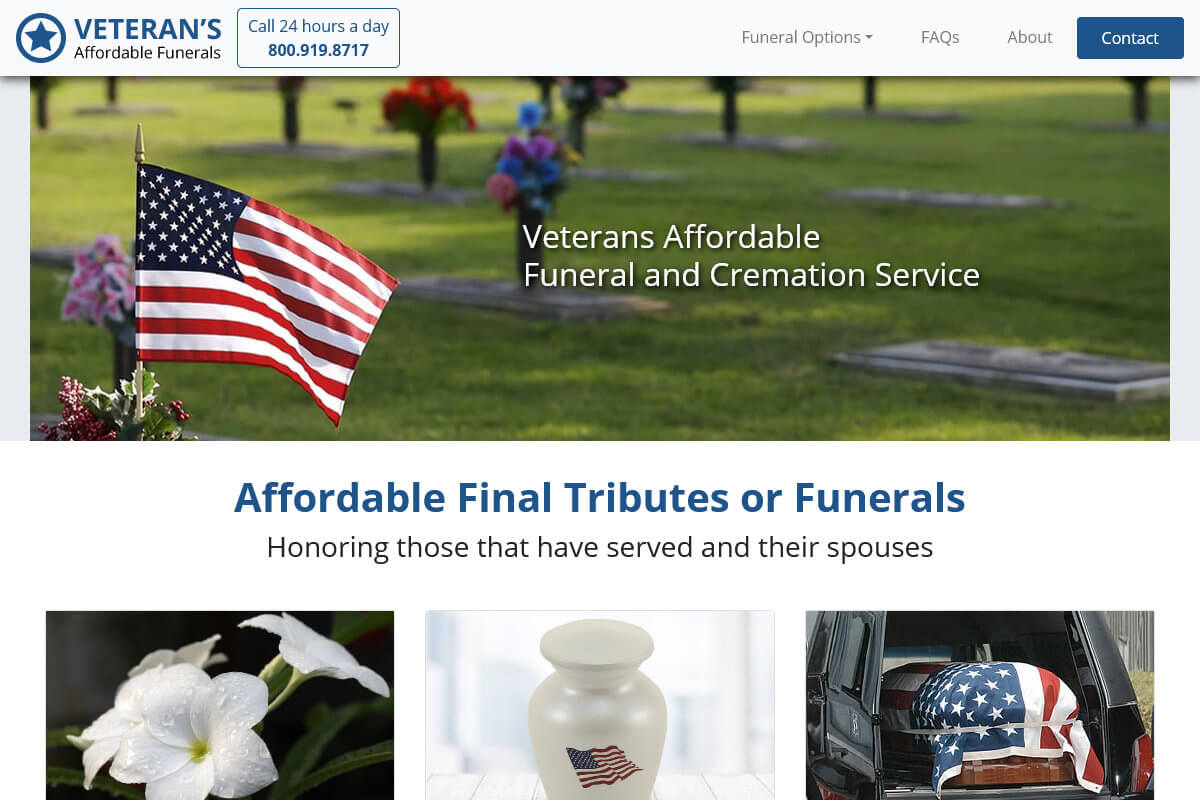 Veterans Affordable Funerals
