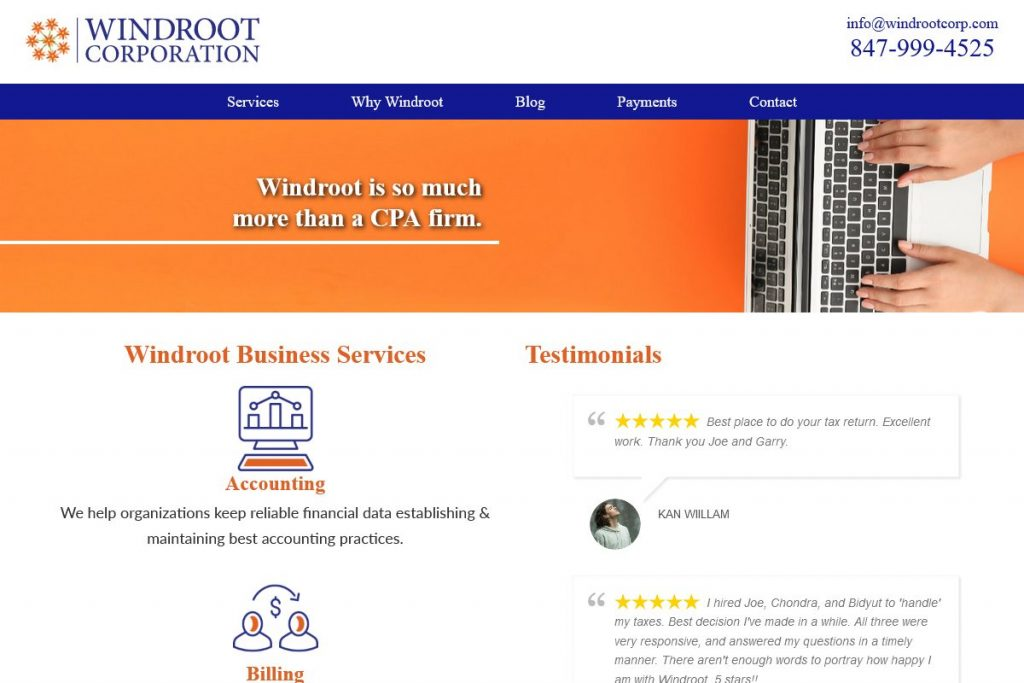 Windroot Services New