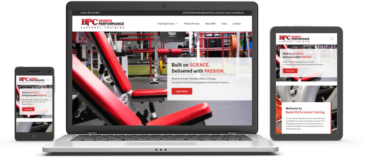 BPC Strong Website Samples